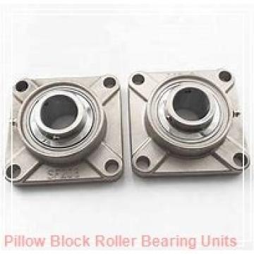 85 mm x 264.2 to 296.1 mm x 106 mm  Dodge ISN 519-085MLR Pillow Block Roller Bearing Units