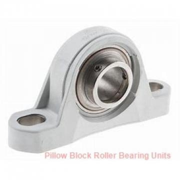 125 mm x 400 to 427 mm x 152 mm  Dodge ISN 528-125MLR Pillow Block Roller Bearing Units