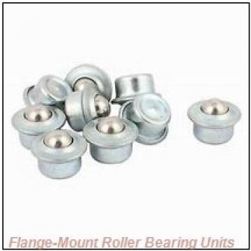 2-11/16 in x 6.7500 in x 8.6250 in  Cooper 01EBCDF211EXAT Flange-Mount Roller Bearing Units