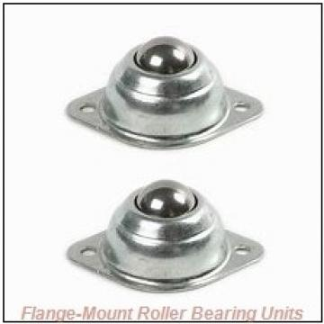 1-11/16 in x 5.0000 in x 8.5000 in  Cooper 01BCF111EX Flange-Mount Roller Bearing Units