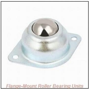 5-3/16 in x 10.6875 in x 17.5000 in  Cooper 01BCF503EX Flange-Mount Roller Bearing Units