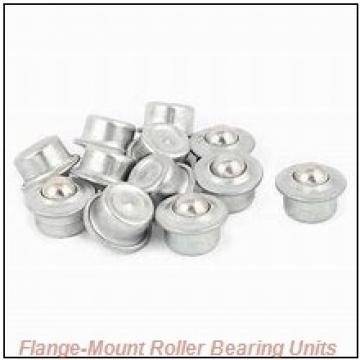 2-11/16 in x 6.7500 in x 8.6250 in  Cooper 01EBCDF211GRAT Flange-Mount Roller Bearing Units